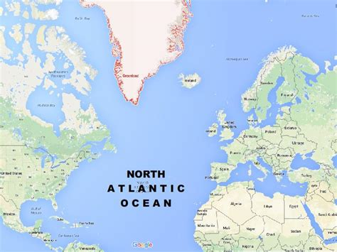 map us oceans map of the atlantic different types of maps all