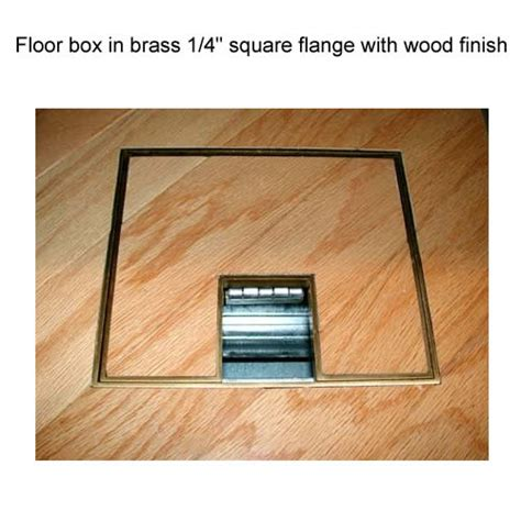 How Many Boxes Of Hardwood Flooring Do I Need by Fsr Fl 600p Electrical Floor Box At Cableorganizer