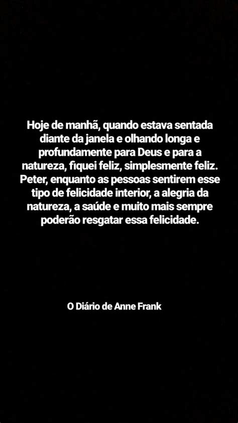 O Diário de Anne Frank | Anne frank, Frases livros e