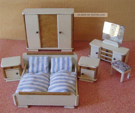schlafzimmer 30er jahre puppenstube puppenhaus puppenm 214 bel - Schlafzimmer 30er Jahre