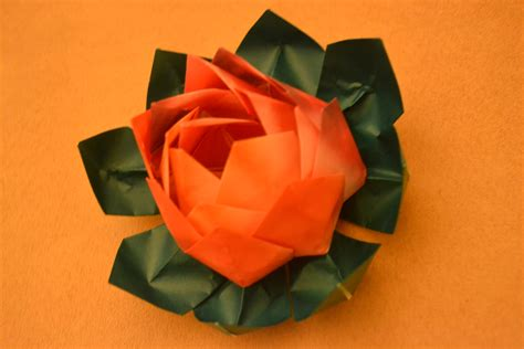 Origami Traditional - origami lotus traditional