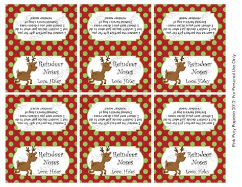 printable reindeer nose tags search results for reindeer noses free printable