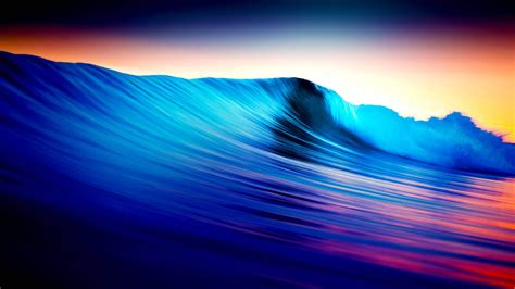 colorful wave wallpaper colorful rolling waves 4k wallpaper
