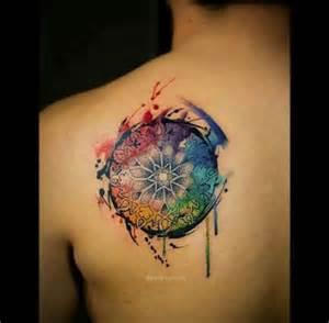 dream catcher back tattoo tattoo shortlist