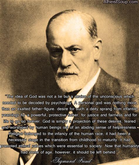 Ateisme Sigmund Frued atheist soup sigmund freud on religion