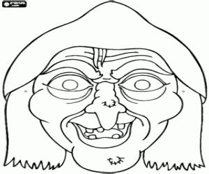 free printable witch mask template halloween masks coloring pages printable games