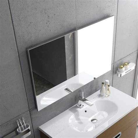 bathroom mirror 800 x 600 aluglass framed mirror 800 x 600 162000 bo 162000