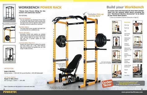 powertec utility bench review powertec fitness workbench power rack review mloovi blog