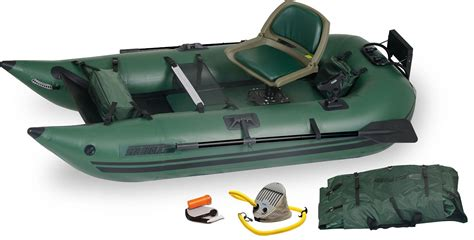 fishing from inflatable pontoon boat best inflatable pontoon boats for fishing 2017 with reviews