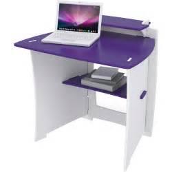 Walmart Kids Desk Legare Select Kids Desk Purple And White Walmart Com