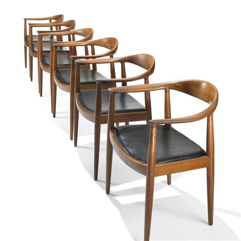 The Chair by Hans Wegner The Chair Set Of Six