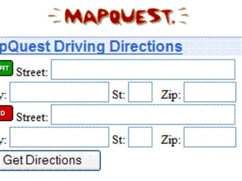 map quest driving directions mapquest driving directions