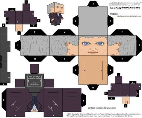Dr Who Papercraft - pin by the chaos clan on doctor who papercraft