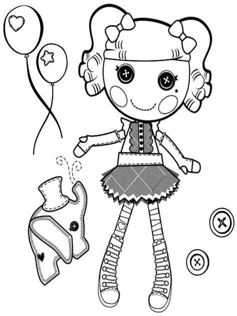 lalaloopsy christmas coloring page lalaloopsy coloring pages download and print lalaloopsy