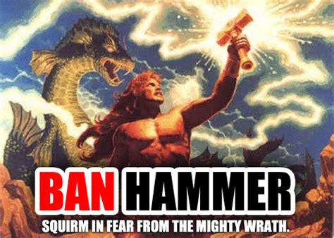 Ban Hammer Meme - i can t take this anymore i got to come clean forum