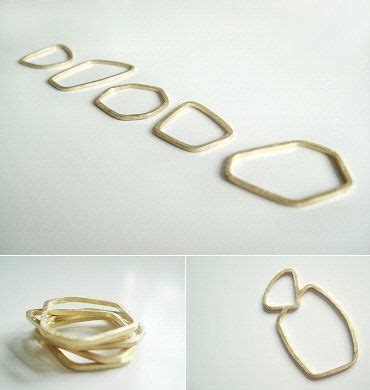 Ring Silver Oke these by louise walker the carrotbox modern