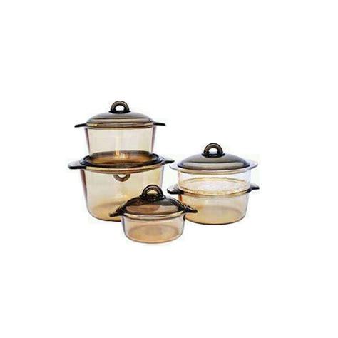 Luminarc Vitro luminarc vitro kitchen pot set 9 pieces pyrex l 235038032