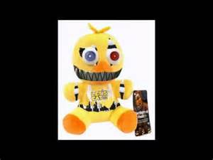 Official fnaf nightmare chica plush youtube