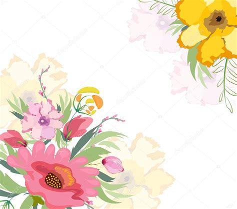 imagenes flores fondos fondo flores acuarela archivo im 225 genes vectoriales