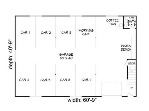8 car garage plans garage plans with loft 8 car garage loft plan 062g