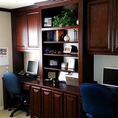 Custom Home Office Cabinets In Southern California Custom Home Office Desk