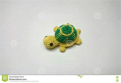 Handmade Turtle - handmade crochet turtle stock photo image 72056162