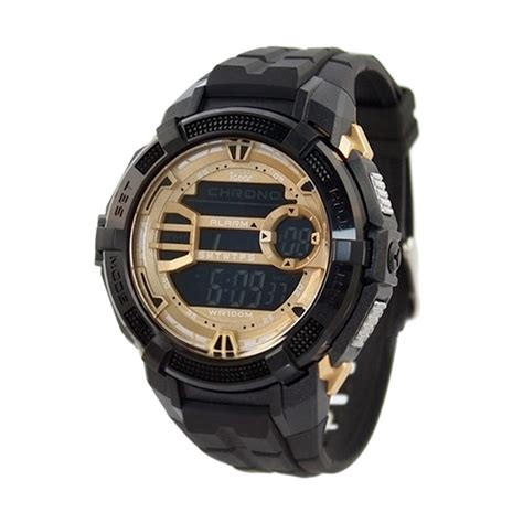 Jam Tangan Pria Igear I62 1938 Digital Rubber Original Murah jual igear i15 1938 jam tangan pria black harga
