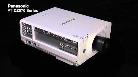 panasonic pt dz570 l panasonic pt dz570 series professional installation