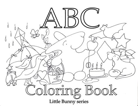 a to z coloring pages pdf coloring pages little bunny series
