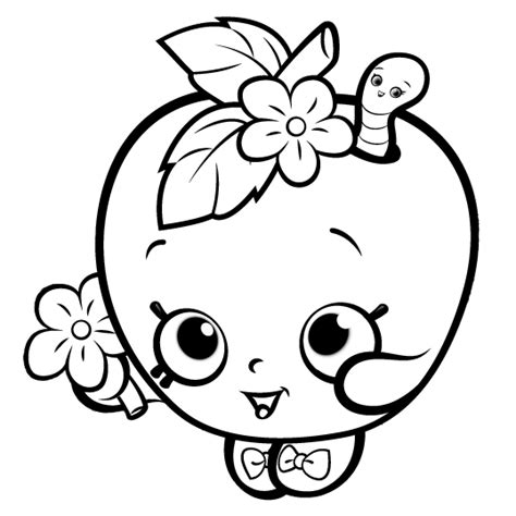 shopkins coloring pages easy shopkins coloring pages getcoloringpages com