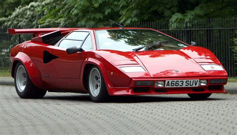 Lamborghini Countach 1978 1982 Lamborghini Countach Lp400 S Specifications