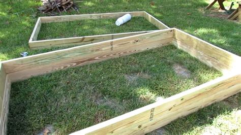 How To Quickly Easily Build Raised Bed Garden Frames How To Raise Bed Frame