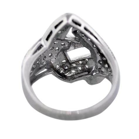 white gold buckle design ring boca raton