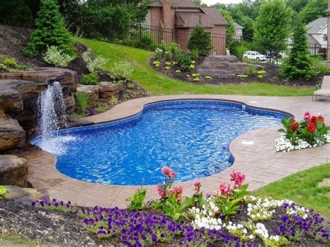 pools in small backyards 1523 best awesome inground pool designs images on