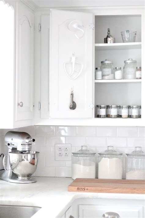 baking cabinet organization free up drawer space by hanging some of your most used