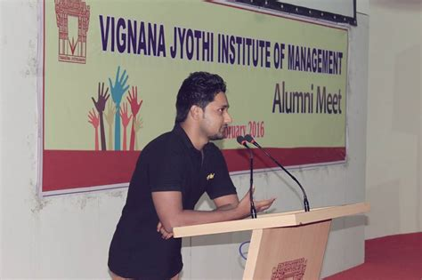 Mba Colleges In Hyderabad by Vjim Hyderabad Hosted Its 16th Annual Alumni Meet On
