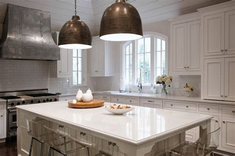 White Cabinet Kitchens With Granite Countertops Cambria Torquay Quartz Transitional Kitchen Cr Home