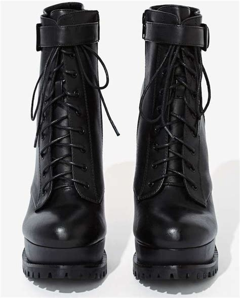look for less azzedine alaia platform lace up boots vs