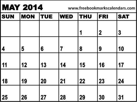 printable calendar 2014 may 8 best images of printable monthly calendar may 2014 may