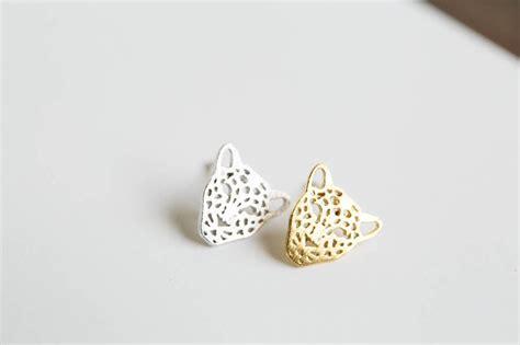 tiger earrings jewelry earrings studs post posts stud