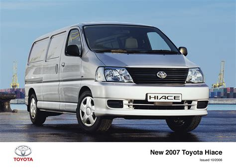 toyota hiace hiace archive toyota uk media site