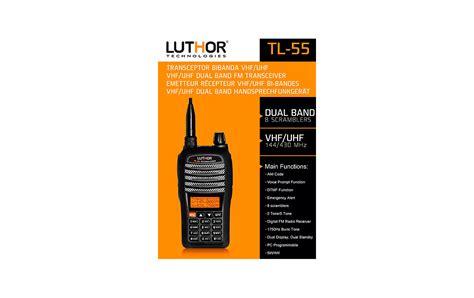 Pulsa Tri 10k walkie talkies luthor tl55 kit7 bi banda dual band vhf uhf