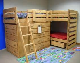 Bunk Bed For Three Bunk Bed Design Ideas Home Design Garden Architecture Magazine