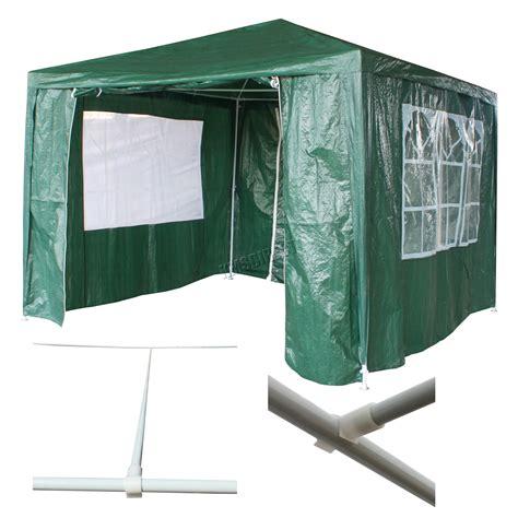 Waterproof Awning by Waterproof Green 3m X 3m Outdoor Garden Gazebo Tent