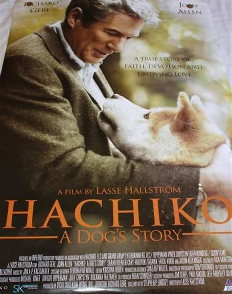 Other Movie Memorabilia - ORIGINAL CINEMA MOVIE POSTER ... Hachiko Movie Summary