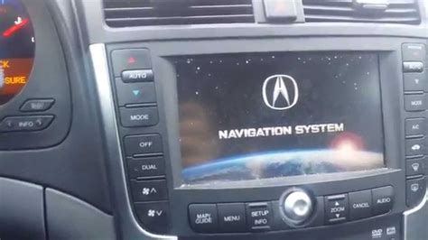 acura tl navigation problem easy fix