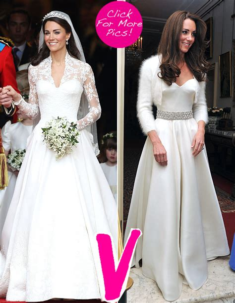 hochzeitskleid shopping queen kate middleton wore two gorgeous gowns which one do you
