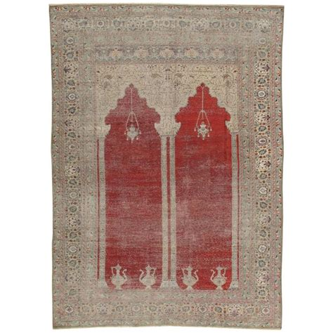 Handmade Silk Rugs - antique turkish kaysari handmade rug silk