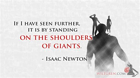 The Shoulders Of Giants standing on the shoulders of giants