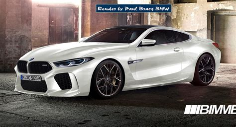 2019 Bmw 7 Series Coupe by 2019 Bmw M8 Coupe More Realistically Rendered Carscoops